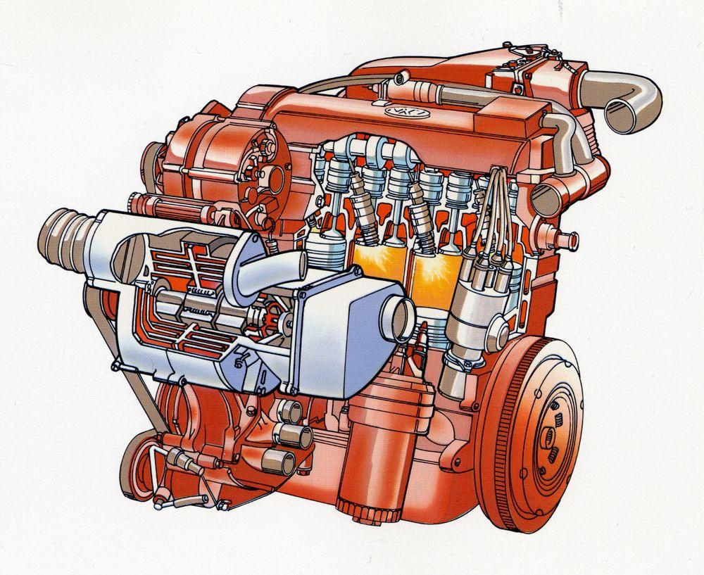 g60 engine cutaway