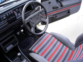 Vw mk2 golf top 10 buying tips vw heritage blog for Interior golf mk2