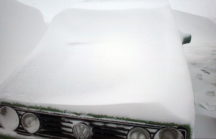 Mk2 in snow