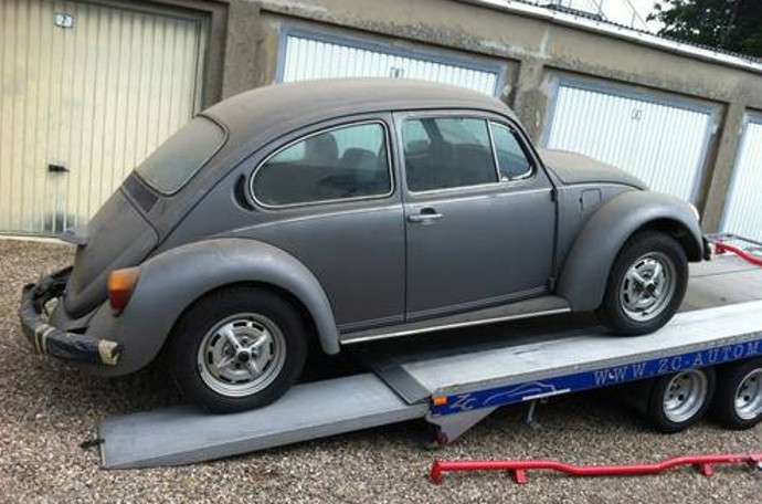 new beetle side