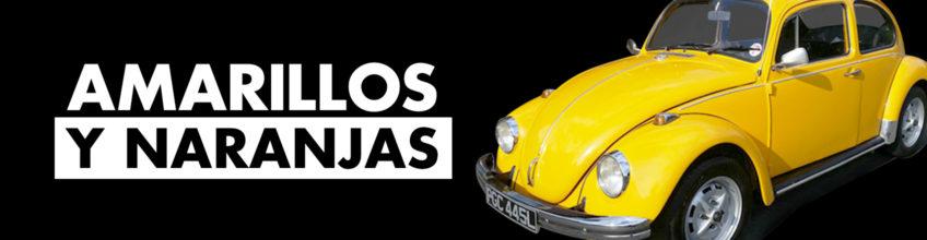 Amarillos y naranjas de VW