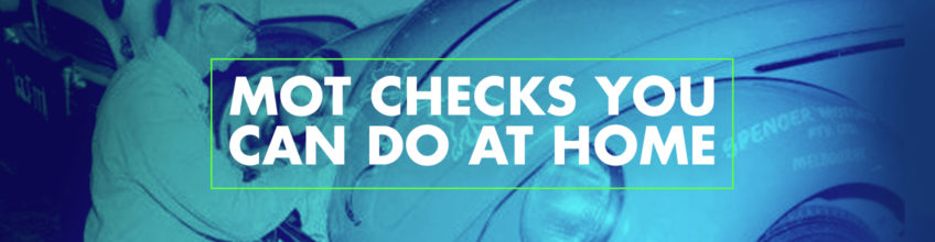 MOT checks you can do at home