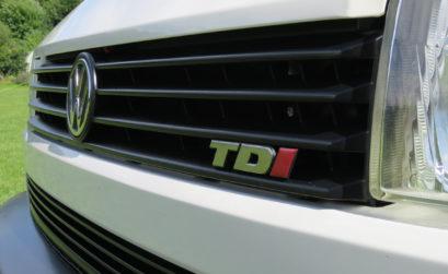 TDI engine front