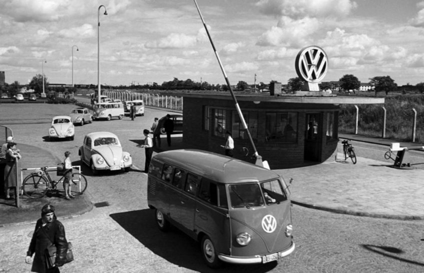Know your VW factory: Wolfsburg main gate