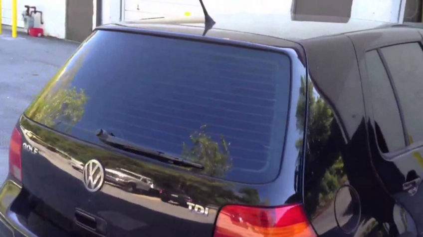 Window Tinted VW Golf