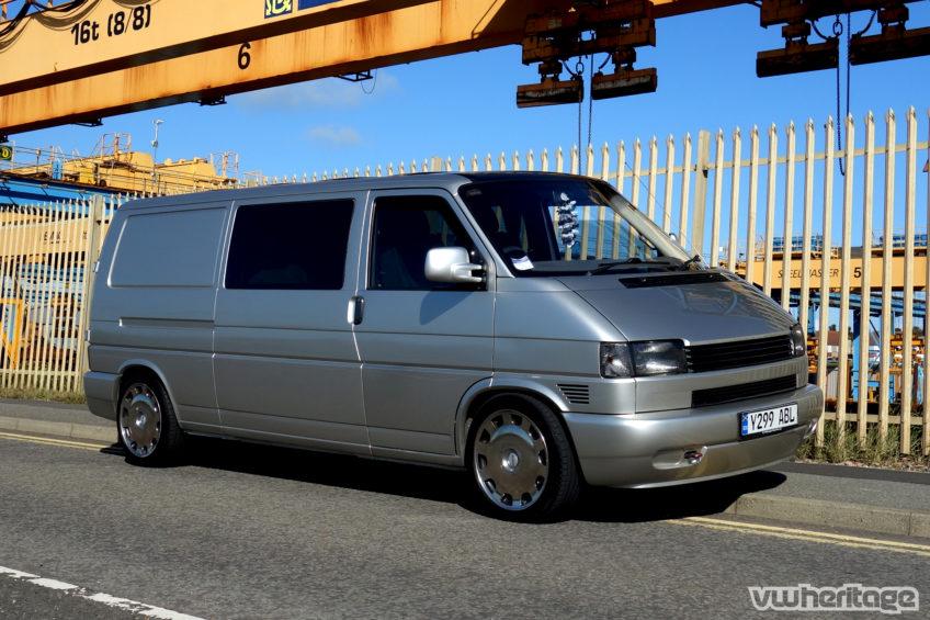 T4 Van Silver