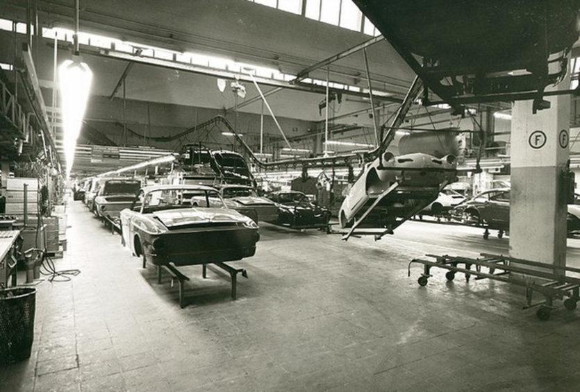 Karmann Ghia production