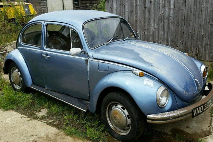 beetle blue