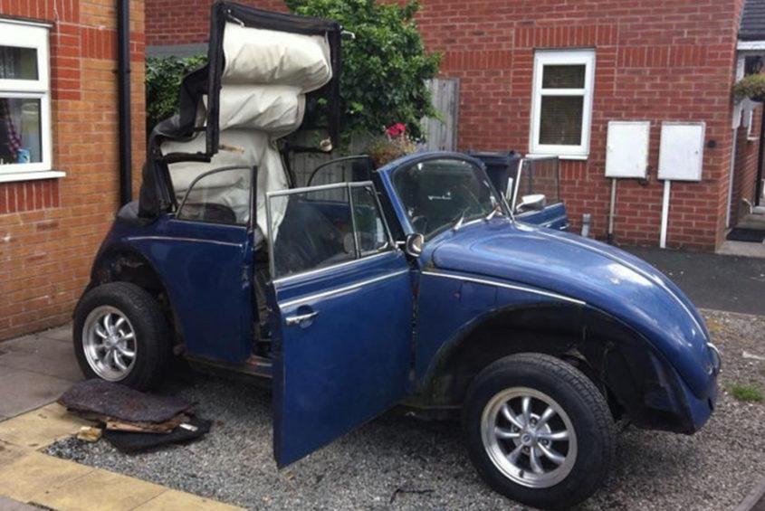 beetle convertible blue