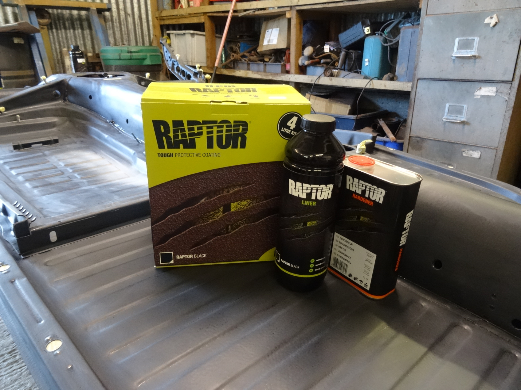 Raptor rust proofing products