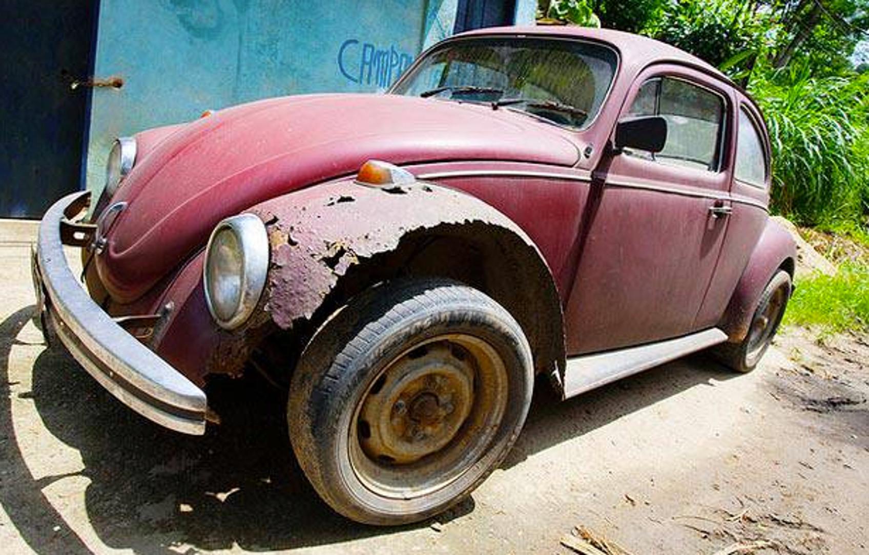 Rusty VW Beetle