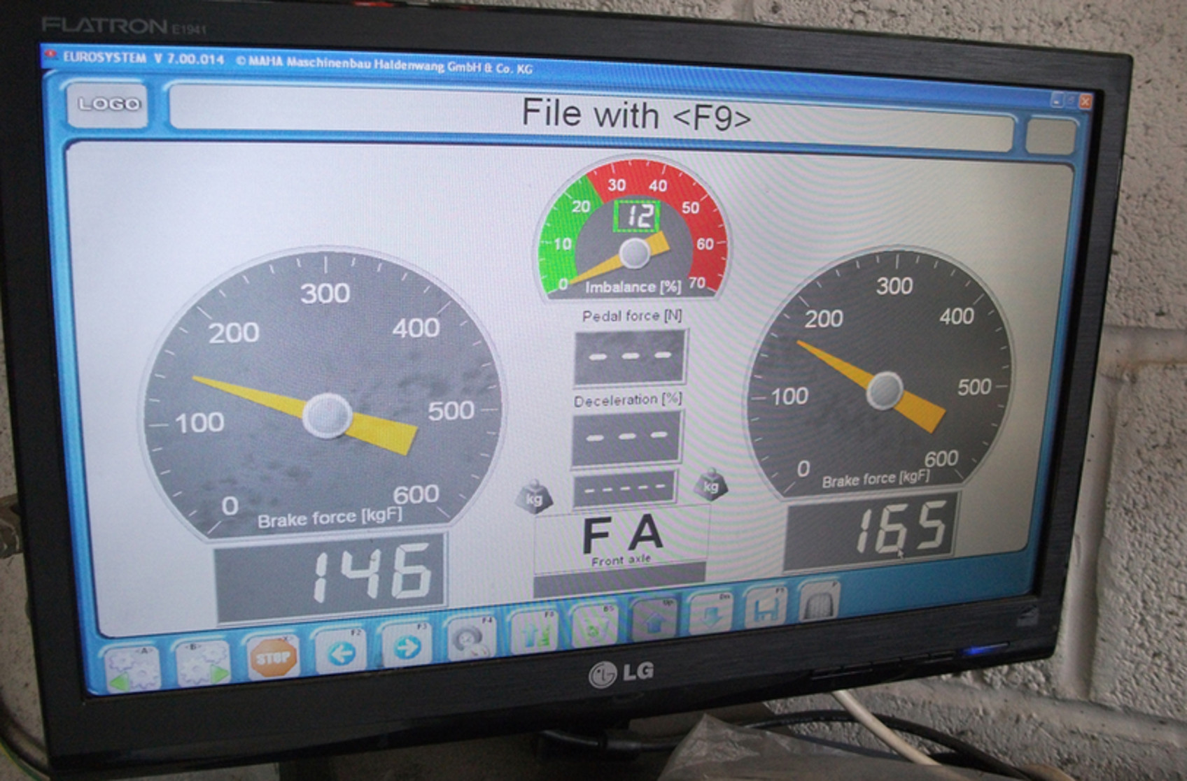 IVA brake test